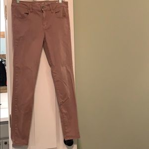 Light pink Jeggings from American eagle